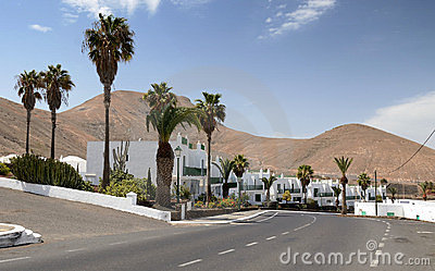 Lanzarote's City Royalty Free Stock Image - Image: 24005876