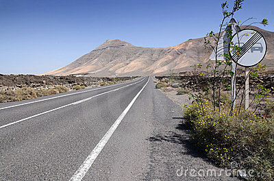 Lanzarote s hi-way