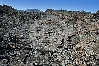 Lanzarote Timanfaya Fire Mountains volcanic lava