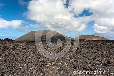 Lanzarote, volcanic landscape