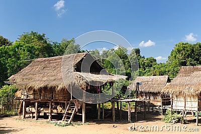 Lao, Muang Sing - rural scene