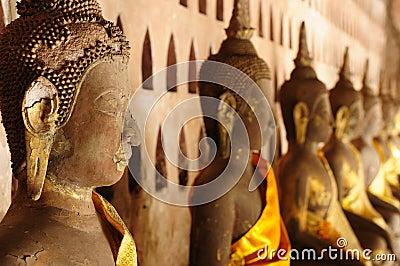 Lao, Vientiane - Wat Si Saket temple