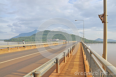 Laos Japanese Bridge