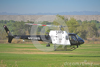 LAPD - Eurocopter AS 350 B2 Editorial Photography