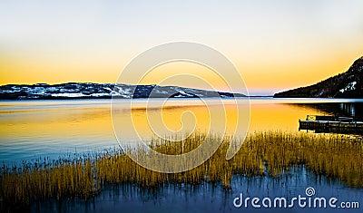 Lapland lake