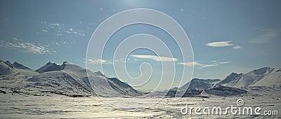 lapland Winter mountain