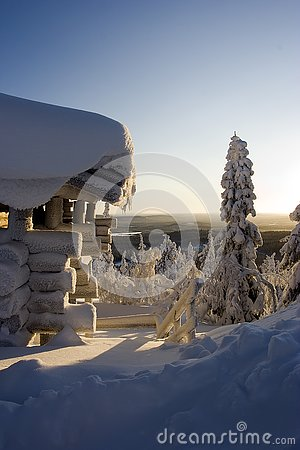 Lapland winter wonderland