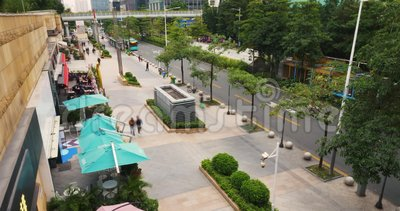 Laps de temps de la Chine de ville de Shenzhen clips vidéos