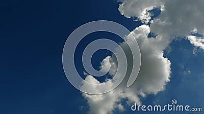 Lapso de tempo da nuvem do céu filme