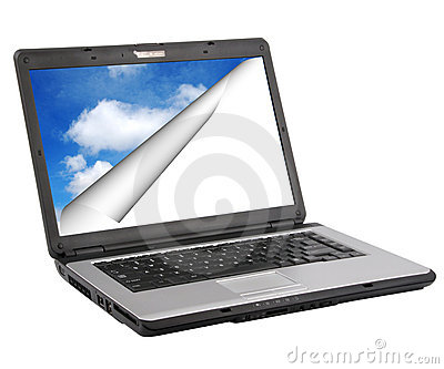 Laptop Royalty Free Stock Images - Image: 10353679