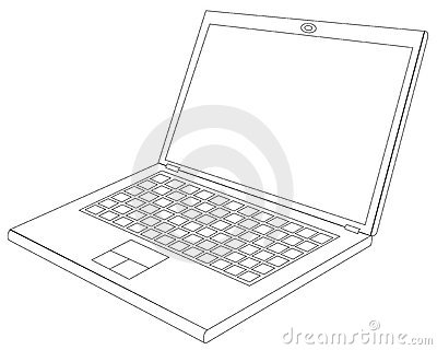 Laptop blueprint