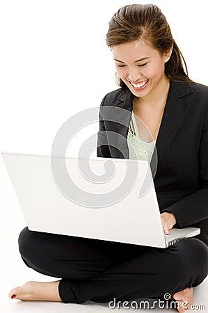 Free Laptop Business Royalty Free Stock Photo - 1243885