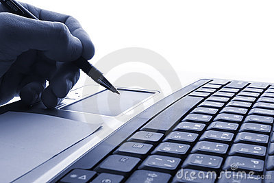 Laptop,  business technology