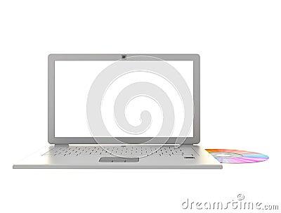 Laptop cd data transfer