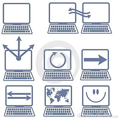 Laptop Computer Icons