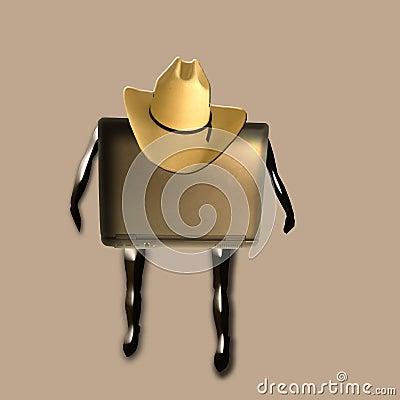 Laptop Cowboy
