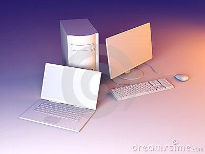 Laptop and Desktop PC