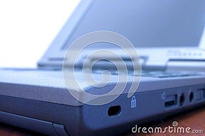 Laptop detail Stock Photo