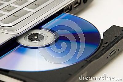 Laptop DVD Disk Drive