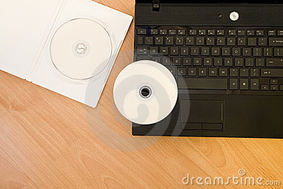 Laptop with DVD-rom
