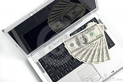 Laptop en Geld