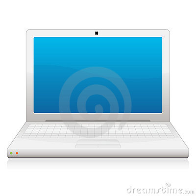 Free Laptop Icon EPS Royalty Free Stock Photography - 15893407