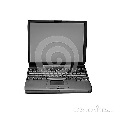 Laptop isolated