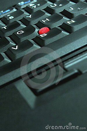 Laptop Keyboard Closeup