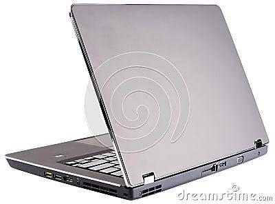Laptop rear view