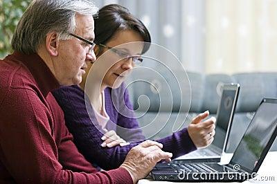 Laptop tutoring