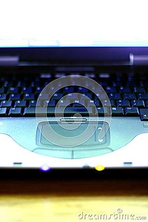 Laptop van de computer