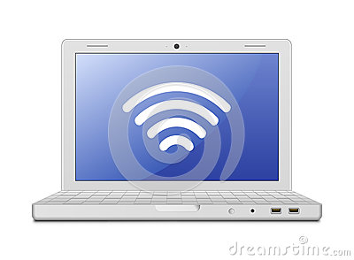 Laptop and wireless network