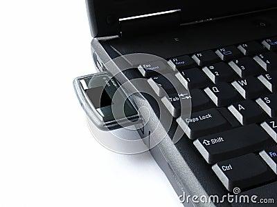 Laptop with wlan