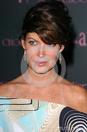 Lara Flynn Boyle,Elton John,Inches Editorial Stock Image