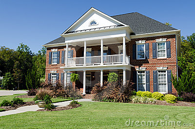 Large american house