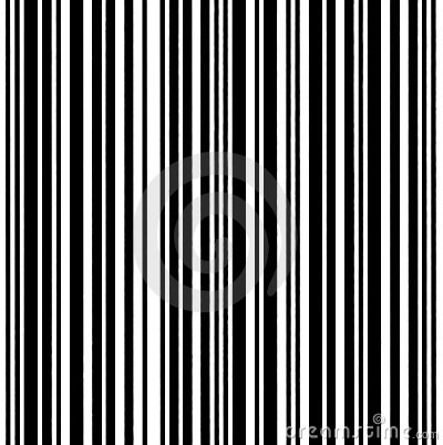 Large Barcode Background Macro Closeup Isolated
