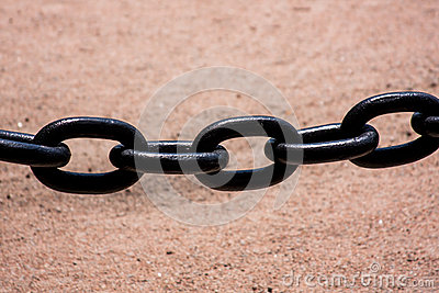 Large Black Chain