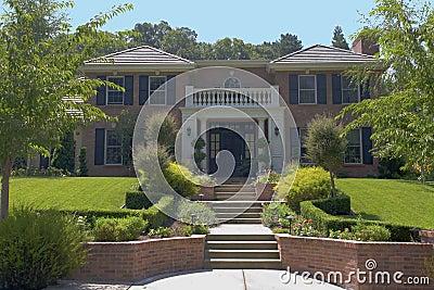 Large Brick Luxury Home