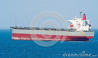 Large bulk carrier ship
