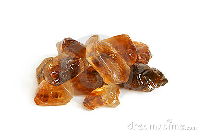Large caramelized sugar