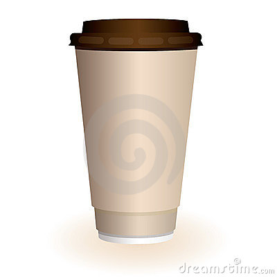 Free Large Coffee Cup Stock Photography - 8126222