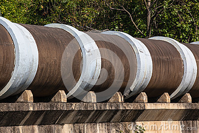 Large concrete drain pipes royalty free stock photo image 31767995