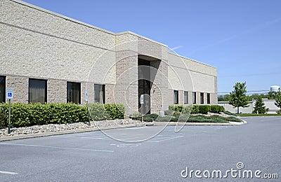 Large corporation building