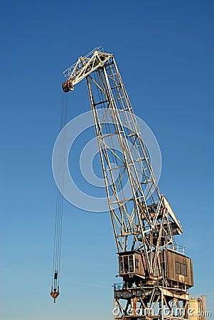 Large crane arm