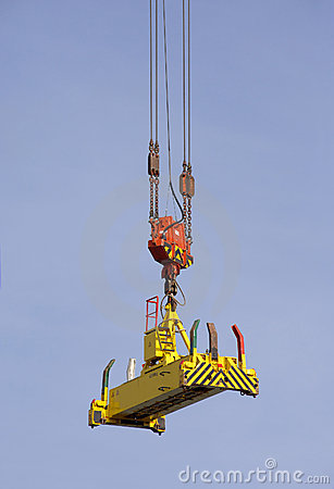 Large crane for containers