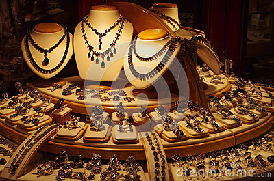Large Display Jewelry Store