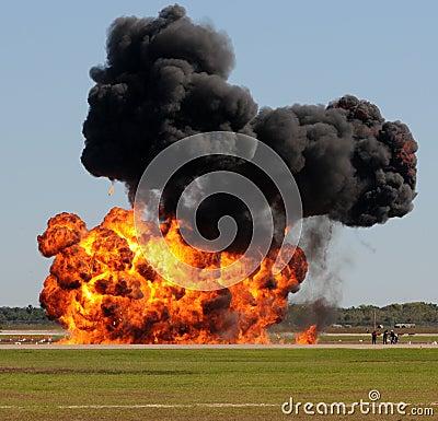 Free Large Explosion Royalty Free Stock Image - 11738866