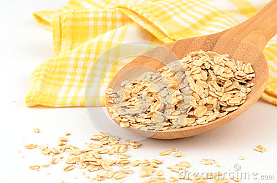 Large flake oats