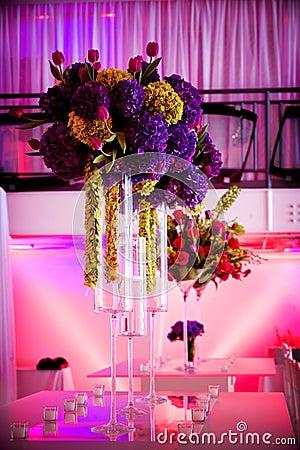 Large flower centerpieces