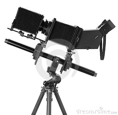Free Large Format Camera Royalty Free Stock Image - 23721136